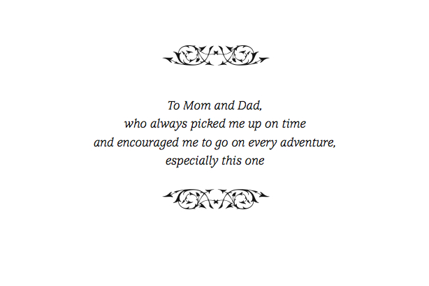This thesis is dedicated to my parents