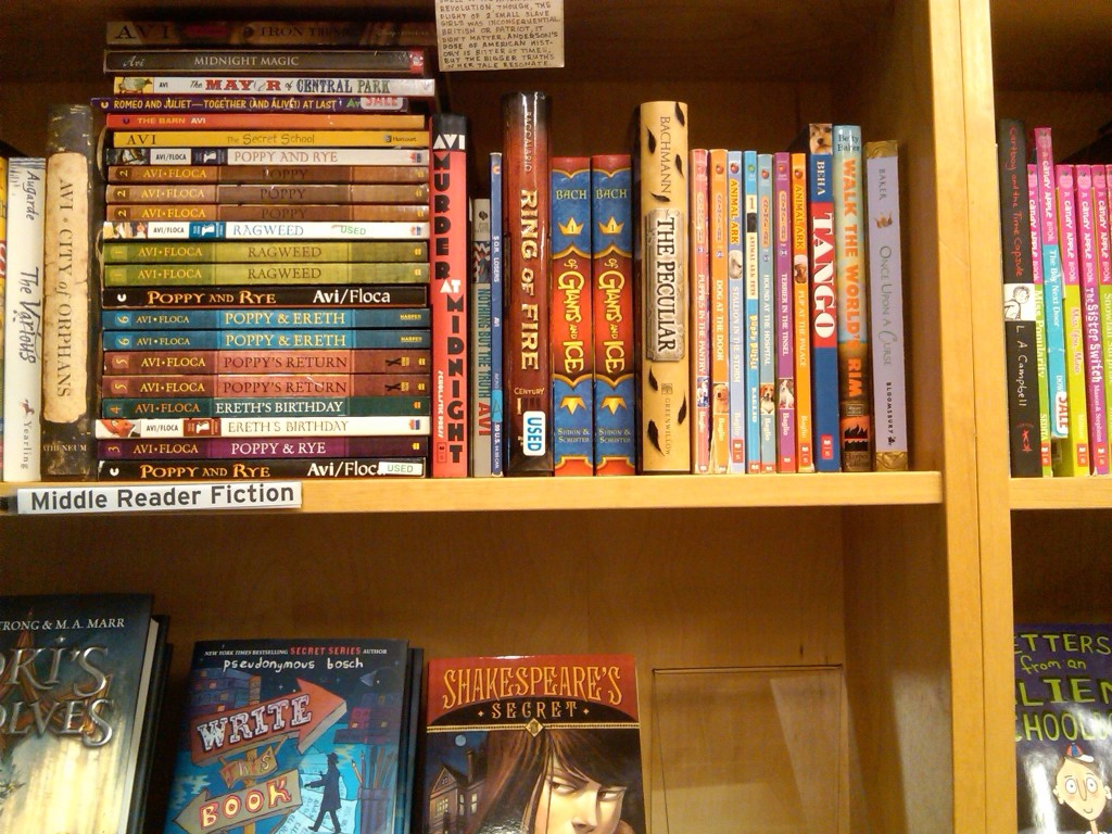 This was the first place I saw paperbacks in a store--at Powell's Hawthorne location. :-)