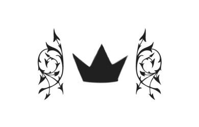 2 by 2 crown (sticker)
